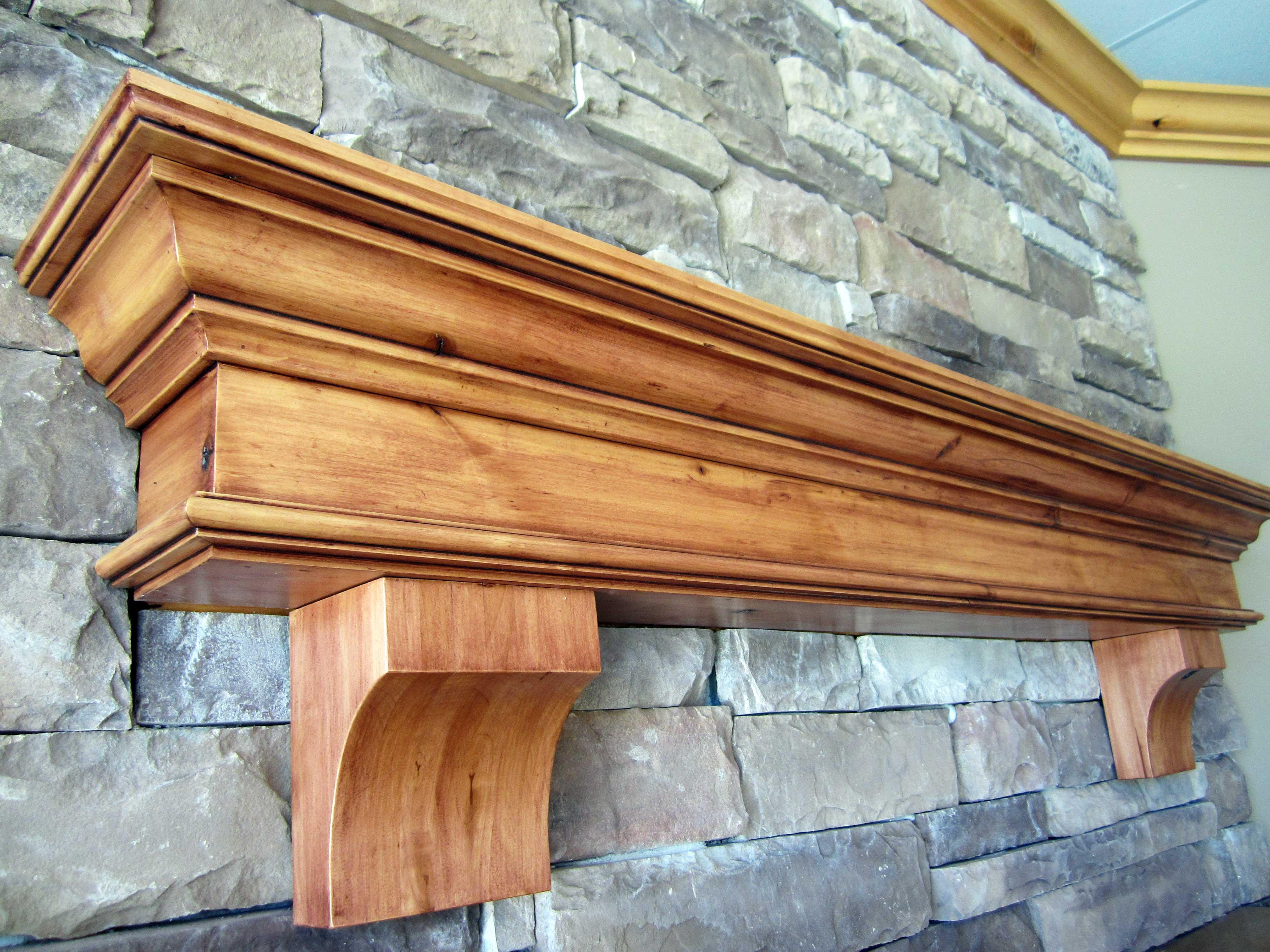 Summit iguana art designiguana art design - Types fireplace mantel shelves choose ...